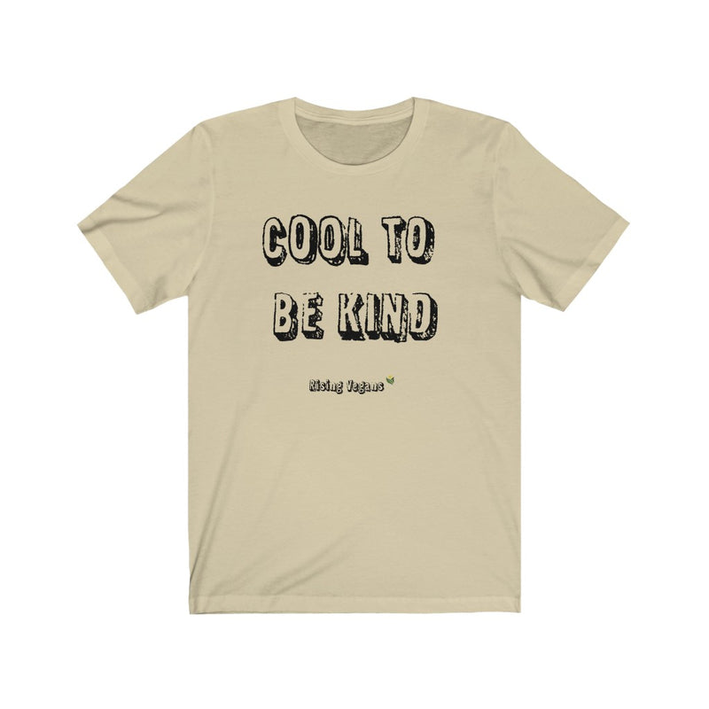 Men's Cool To Be Kind Jersey Tee - Rising Vegans