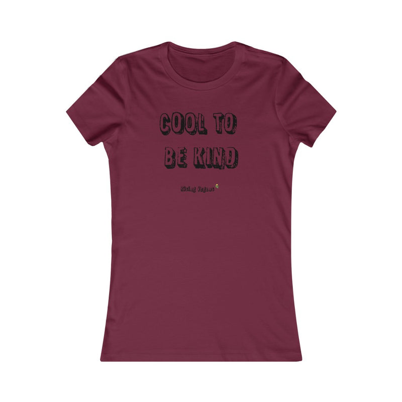 Cool To Be Kind Women's Tee - Rising Vegans