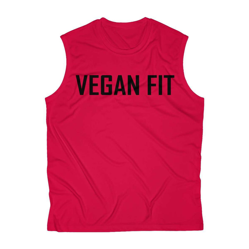 Vegan Fit Sleeveless Performance Tee - Rising Vegans