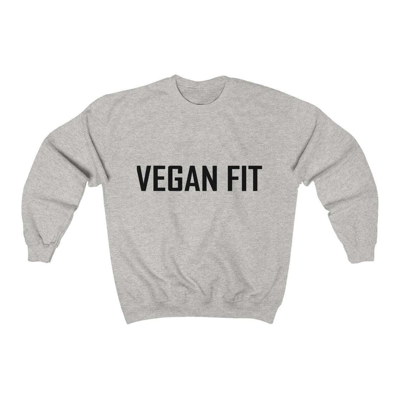 Vegan Fit Heavy Blend™ Crewneck Sweatshirt - Rising Vegans