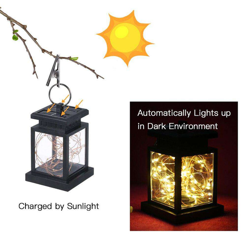 Solar Powered Fairy String Patio Lantern - Rising Vegans