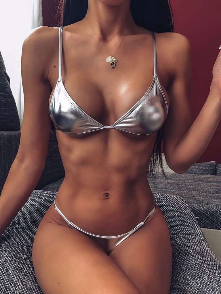Swimwear Women Bikini 2020 Mujer Women Swimsuit Bling Bandage Bikini Set Push up Brazilian Swimwear Beachwear Swimsuit Set #P|Bikini Set| - Rising Vegans