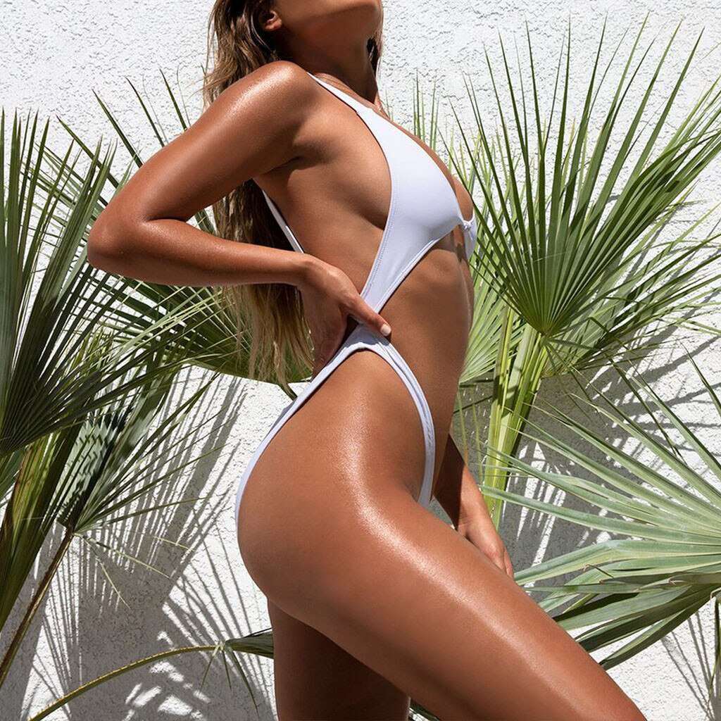 Thong Bikinis 2020 New Sexy Women Swimwear Brazilian Bikini Push Up Swimsuit Solid Beachwear Bathing Suit Biquini Bikini Set #N|Bikini Set| - Rising Vegans