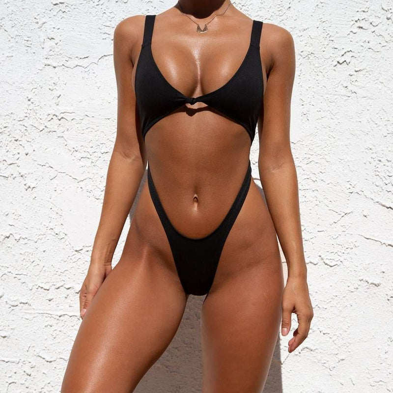 Side Cross Bikini - Rising Vegans