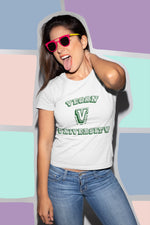 Vegan University Women's Tee - Rising Vegans