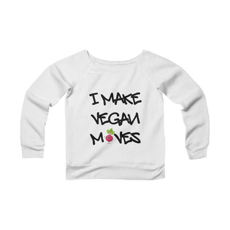 Women's Vegan Moves Off-The-Shoulder Fleece - Rising Vegans