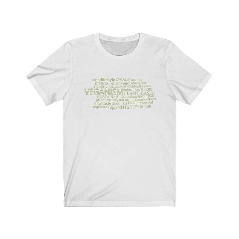 Veganism Men's Cotton T-shirt - Rising Vegans
