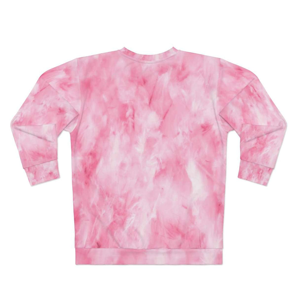 Pink Clouds Sweatshirt - Rising Vegans