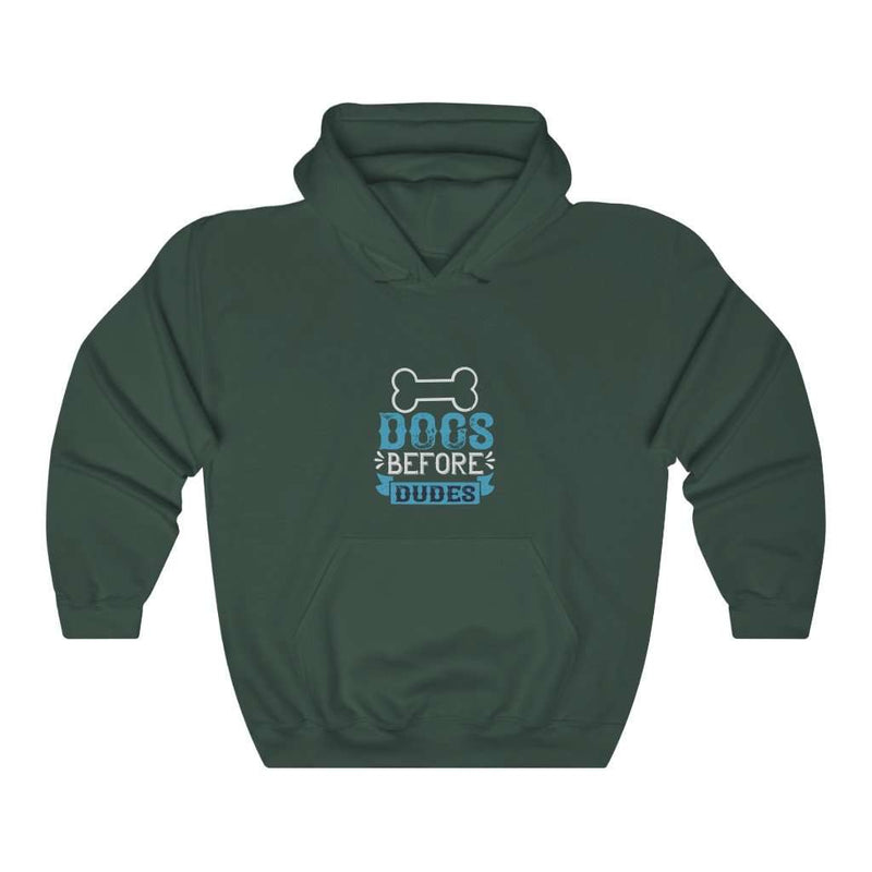 Dog Before Dudes Hoodie - Rising Vegans
