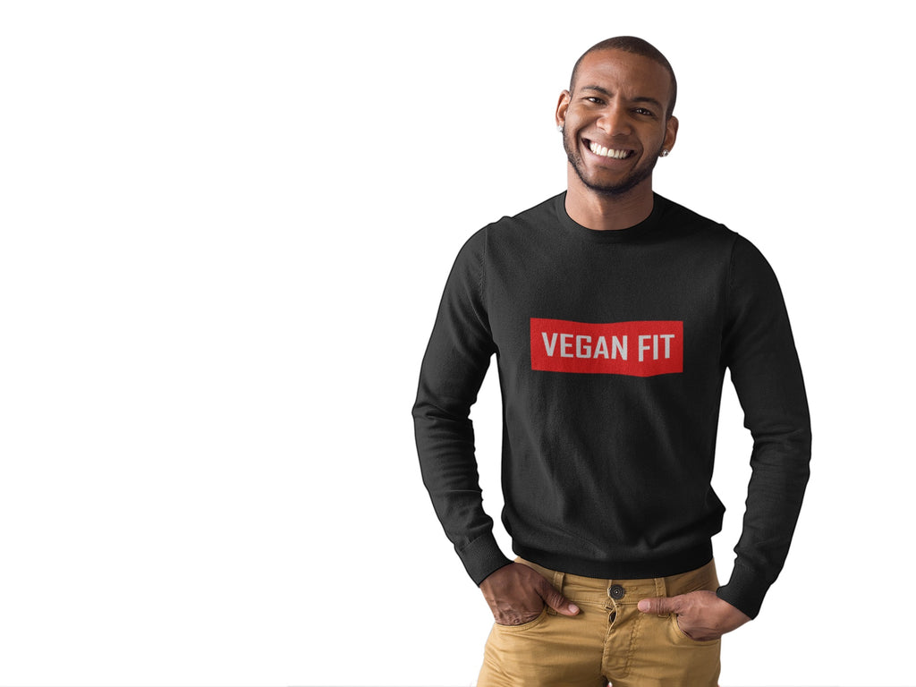 Men's Vegan Fit Block Sweatshirt - Rising Vegans