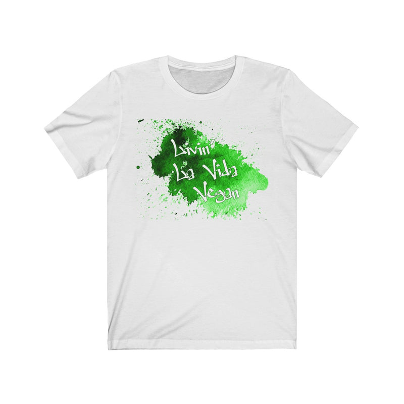 Livin' La Vida Vegan Regular Fit Jersey Tee - Rising Vegans