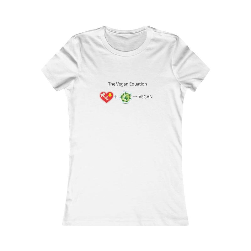 Vegan Equation Slimming Tee - Rising Vegans