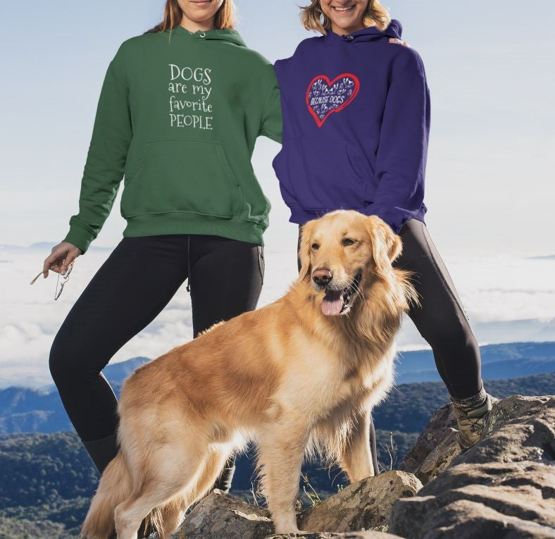 Dogs Are My Favorite People Hoodie - Rising Vegans