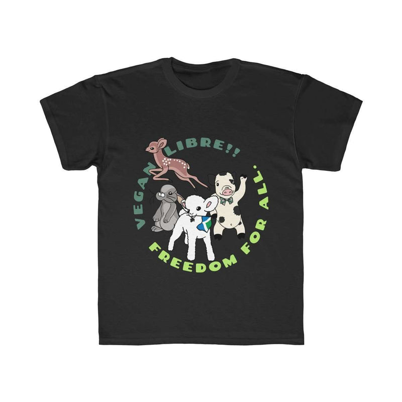 Vegan Libre! Kids Regular Fit Tee - Rising Vegans