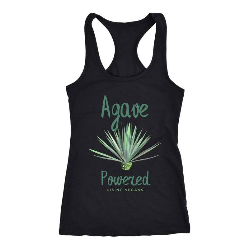 Plant Powered Racerback Tank Top - Rising Vegans