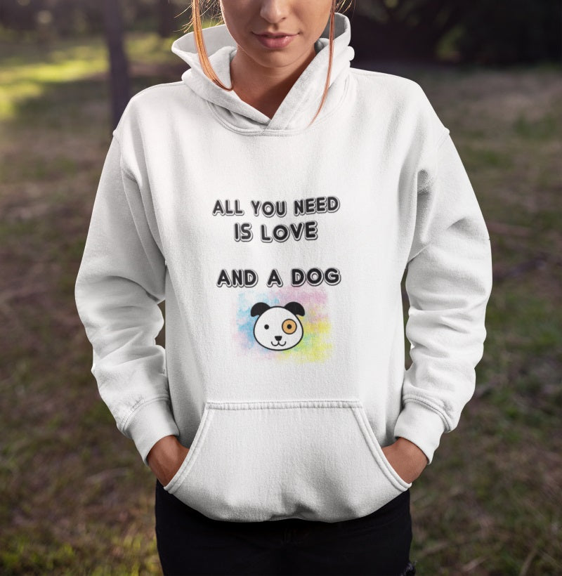 All You Need Is Love & A Dog Hoodie