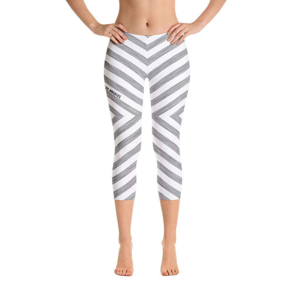 Chevy Grey Capri Leggings - Rising Vegans