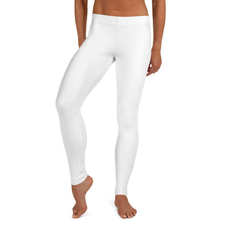 Vegan For Life White Leggings - Rising Vegans