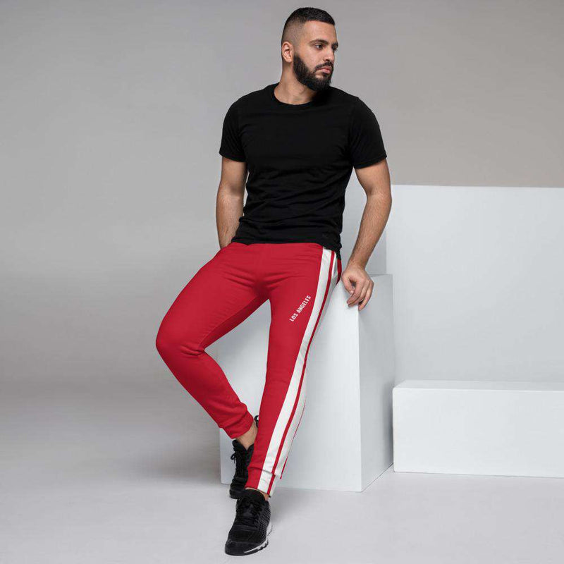 Men's Liam Red Joggers