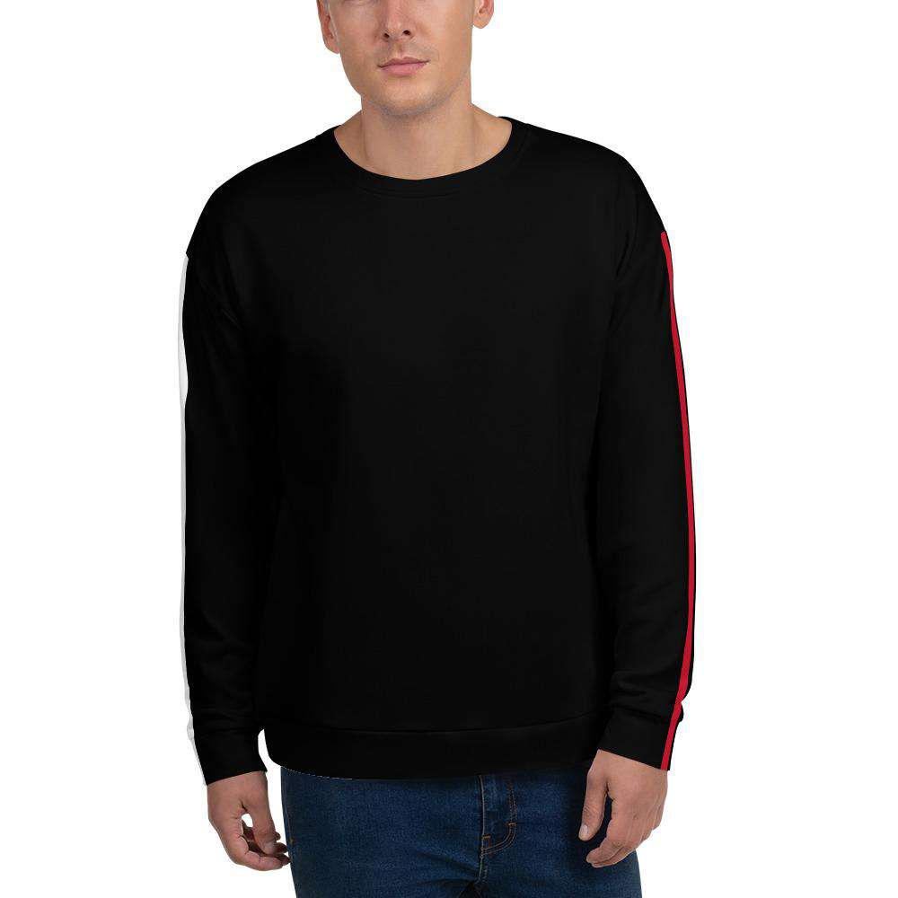 Men's Liam Red Sweatshirt - Rising Vegans