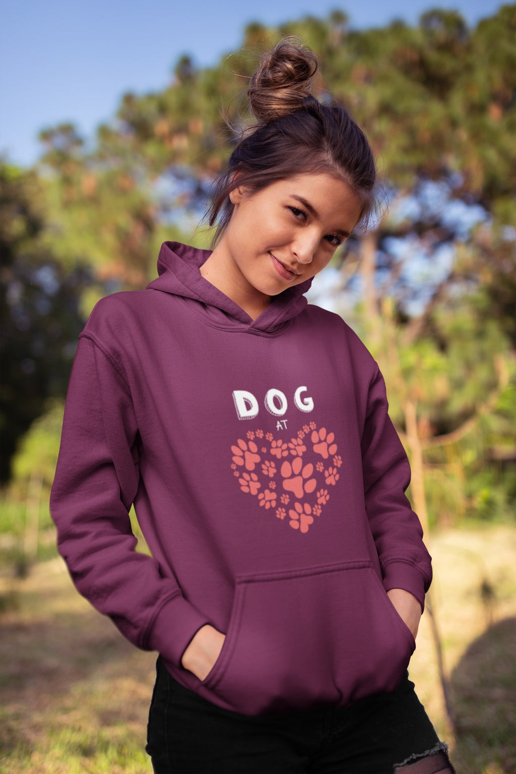 Dog At Heart Hoodie - Rising Vegans