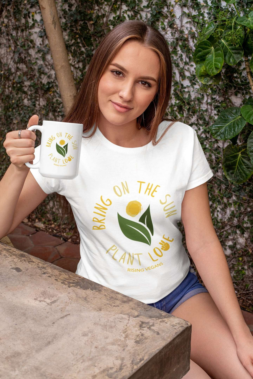Bring on the Sun Tee - Rising Vegans