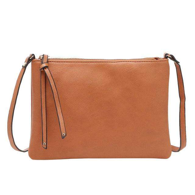 Cross-Body Top Zip Handbag - Rising Vegans