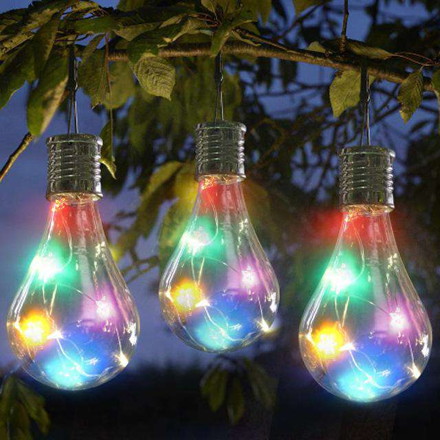 Solar Rotating Outdoor Decorative Hanging Lights - Rising Vegans