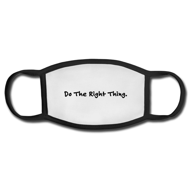Do The Right Thing Cloth Face Mask - Rising Vegans