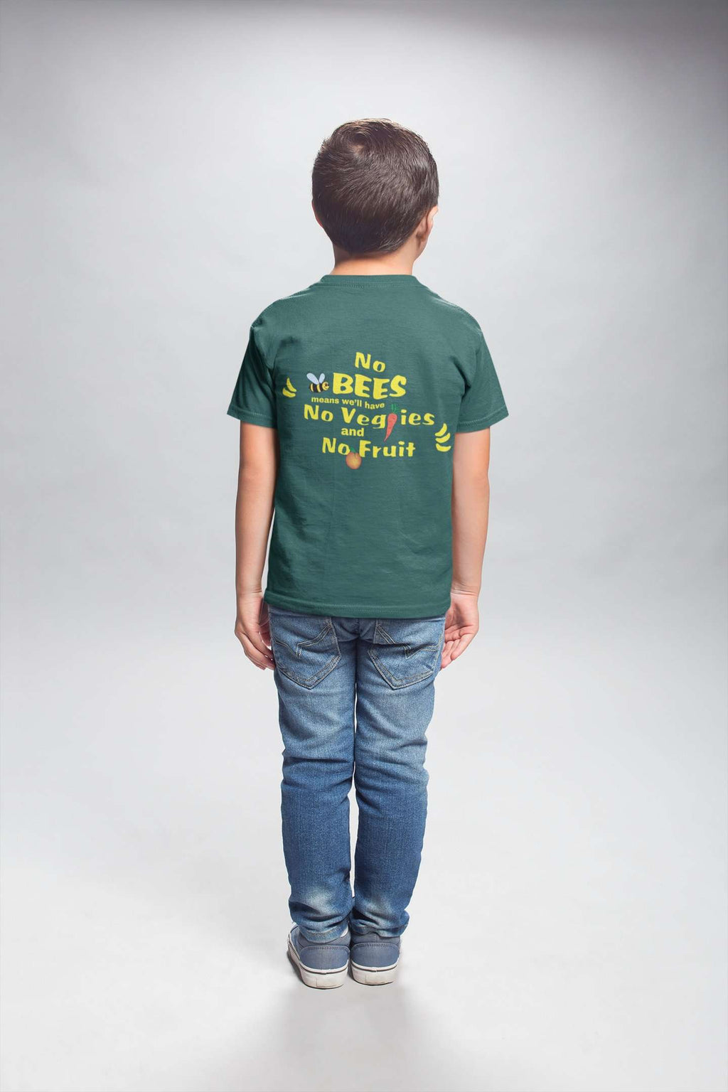 Save Our Bees Kids Tee - Rising Vegans