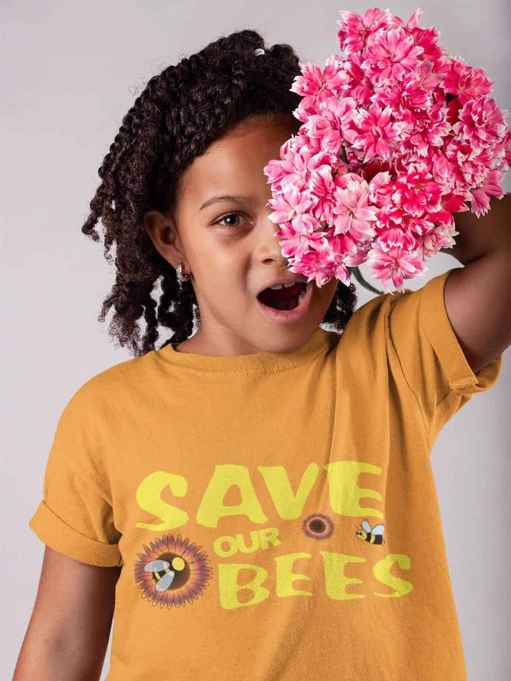 Save Our Bees Toddler Tee - Rising Vegans