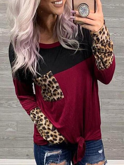 round-neck-leopard-stitching-pocket-t-shirts-zsydnm3