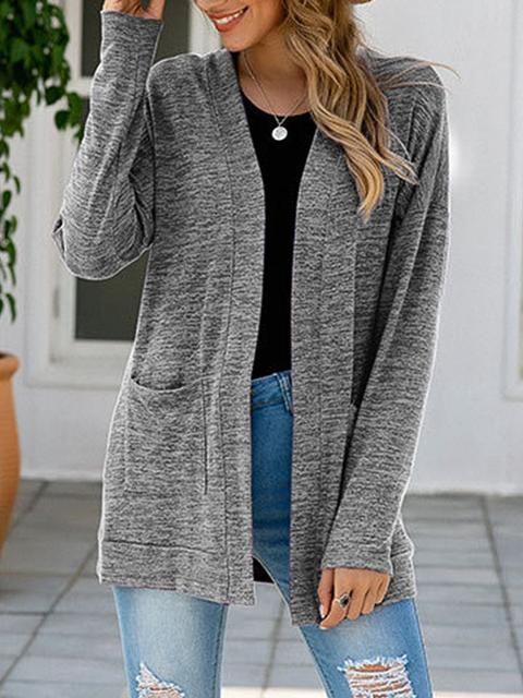 Solid Color Lightweight Cardigan