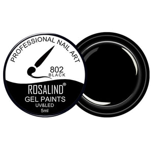 ROSALIND Gel Nail Polish Hybrid Varnishes UV Colors