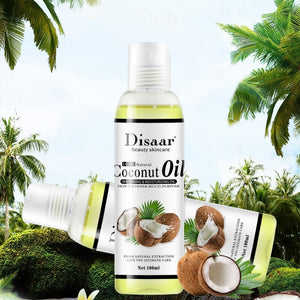 Natural Coconut Massage Oil