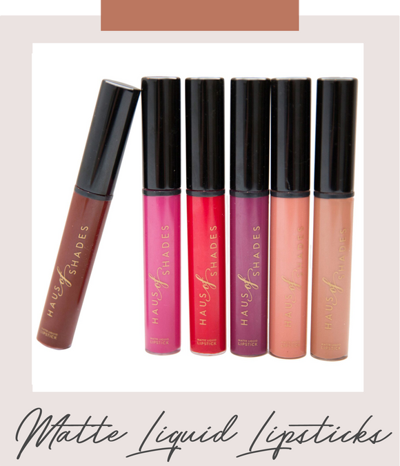 Matte Liquid Lipsticks
