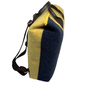 Urban Yellow / Blue Backpack