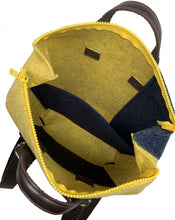 Upload the image to the Gallery Viewer, Urban Yellow / Blue Backpack