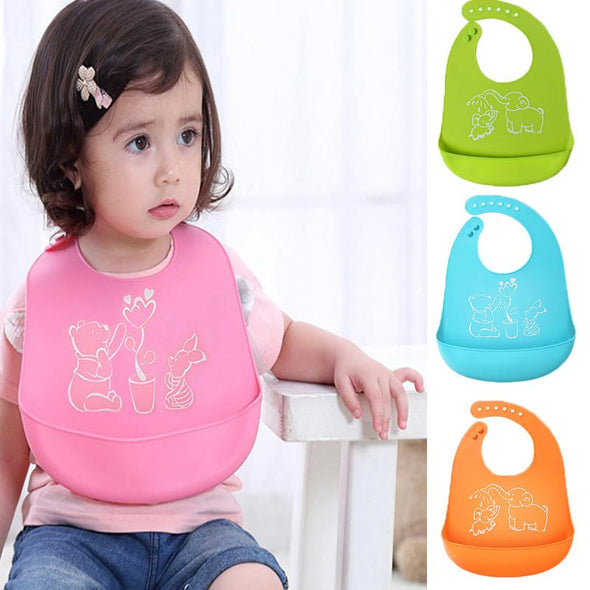 Baby Bib - Waterproof & Flexible