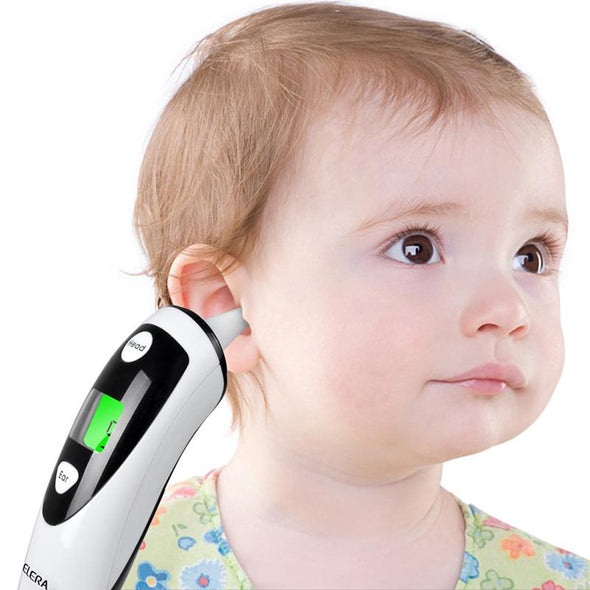 Digital Infrared Thermometer Baby Adult - Non-contact Ear & Forehead-  LCD Digital- FDA Approved