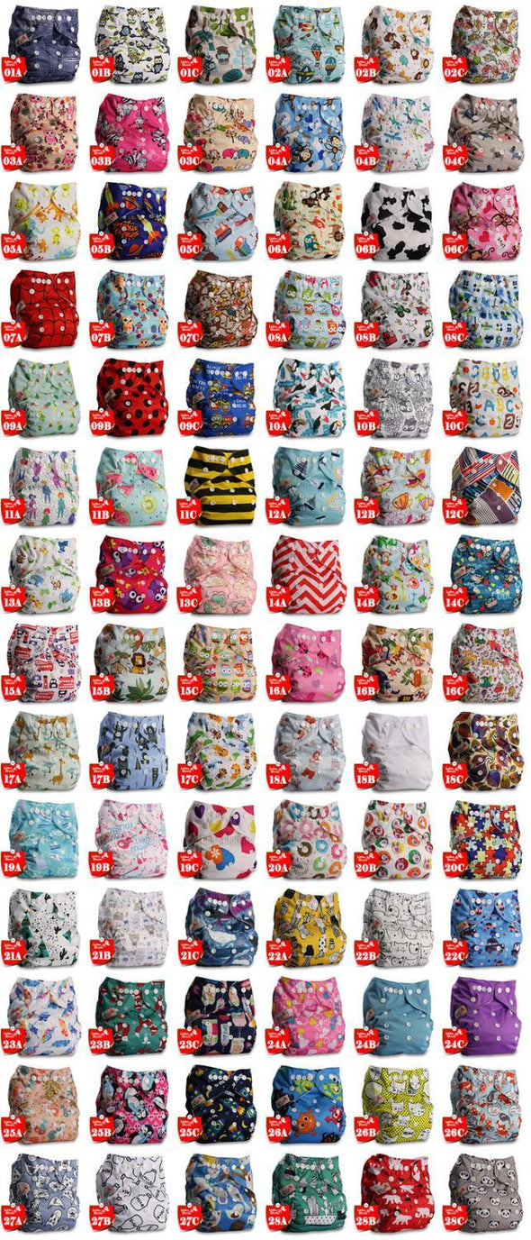Baby Washable Cloth Pocket Nappy Diaper.Comfortable and Reusable Nappy Diaper for your Toddler.