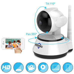 H1080 Home Security.  IP Camera Wireless Smart WiFi . Camera WI-FI . Audio Record Surveillance. Great Home & Baby Monitor. HD Camera 1080P