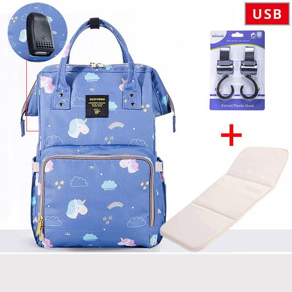 B10 Baby Diaper Bag. Best Maternity Diaper Bag. Large & convenient for Travel . Many Designs.