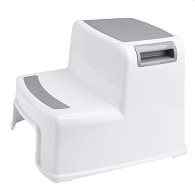 2 Step Stool For your playful Kid. Slip Resistant stool also Safe as Bathroom Potty stool.