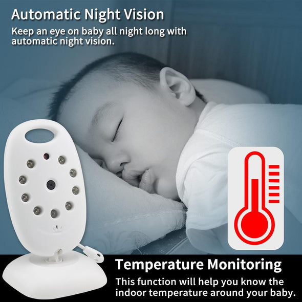 2.0 inch Wireless Video Baby Monitor. Best one to monitor your baby.