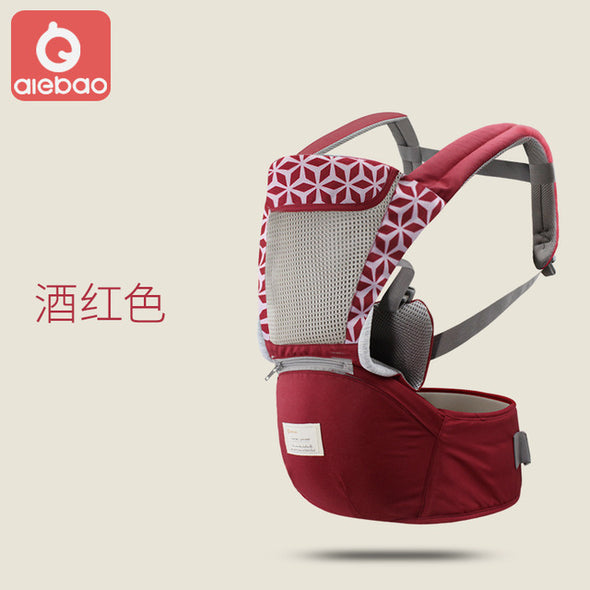 Infant Kid Baby Hipseat Sling Front Facing Kangaroo Baby Wrap Carrier for Baby Travel 0-18 Months
