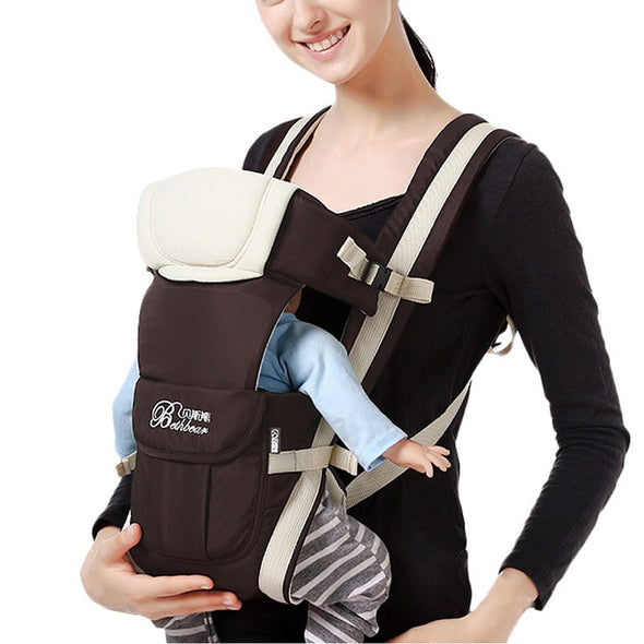 K25 Baby Carrier. Design 0-30 Months Breathable Front Facing Baby Carrier 4 in 1 Infant Comfortable Sling Backpack Pouch Wrap Baby Kangaroo