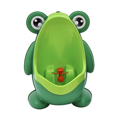 Kod-Kod -  Frog Potty Toilet Urinal Pee Trainer Wall-Mounted Toilet.  Pee Trainer-Children Baby Boy Bathroom Frog Urinal