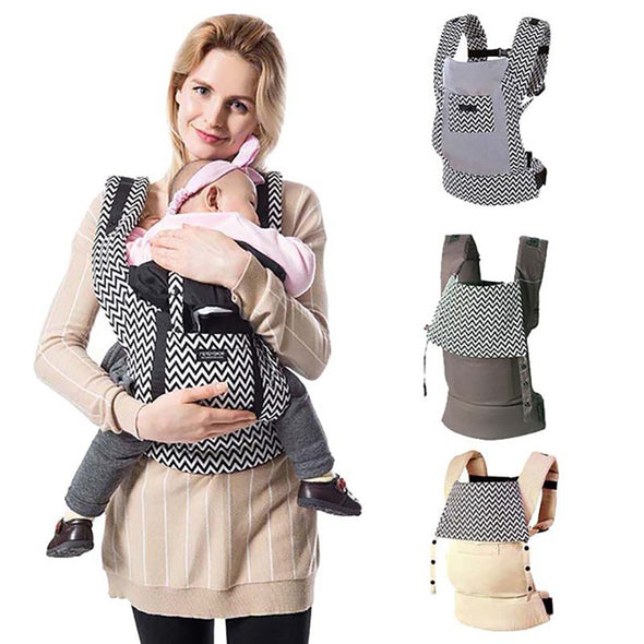 K1 Kanguru Baby Carriers Backpack. Sling Wrap Cotton Infant Newborn Carrying Belt For Mom