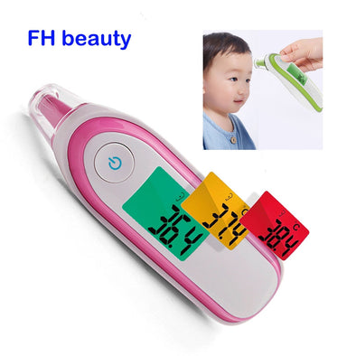 Medical Household Infrared Digital Ear & Forehead Laser Body Thermometer LCD Baby Adult Fever Temperature ear Thermometer